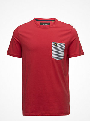 Lyle & Scott Stripe Pocket T Shirt