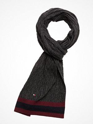 Halsdukar & scarves - Tommy Hilfiger Cable&Stripe Scarf