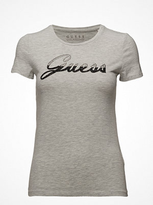 GUESS Jeans S Rn Shiny Logo Tee