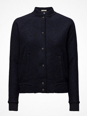 Lee Jeans Wool Bomber Midnight Blue