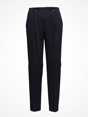 Mango svarta byxor Pleat Detail Trousers