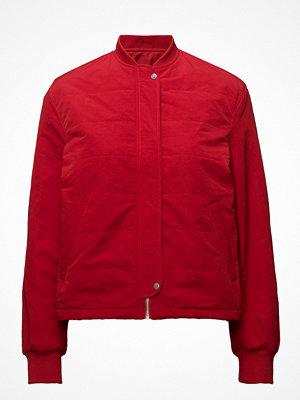 Filippa K röd bomberjacka Ryder Bomber Jacket