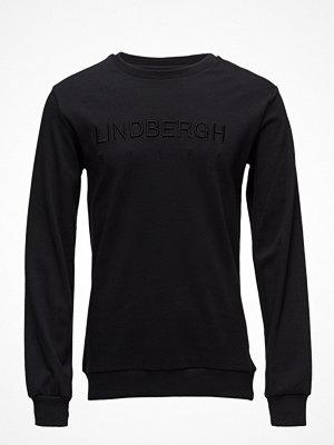 Lindbergh Logo Sweatshirt W. Neck Detail