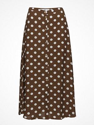 Mango Polka-Dot Skirt