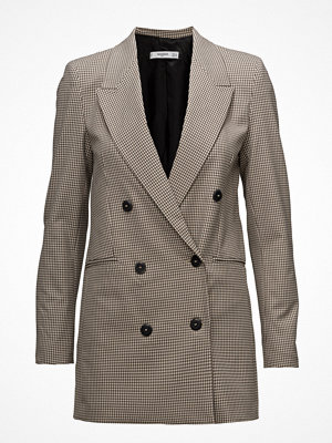 Kavajer & kostymer - Mango Double-Breasted Check Suit Blazer