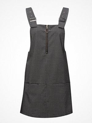 Mango Checkered Pinafore Dress