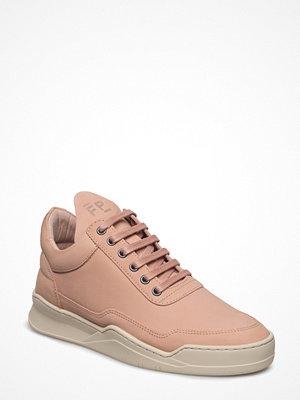 Sneakers & streetskor - Filling Pieces Low Top Ghost Lane Light Pink