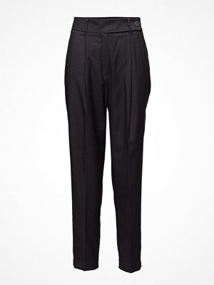 Mango svarta byxor High-Waist Trousers