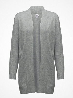 Saint Tropez Long Cardigan W. Rib Detail