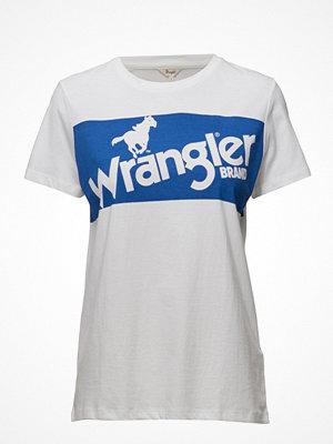 T-shirts - Wrangler Retro Logo Tee White