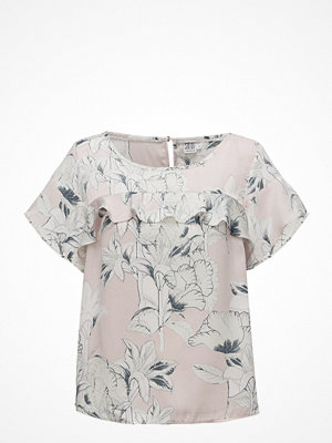 Blusar - Saint Tropez Large Flower Printed Top