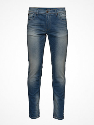Jeans - Lindbergh Tapered Fit Jeans Light Ink Wa