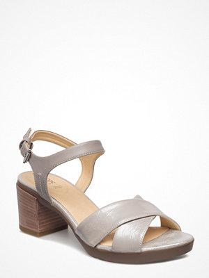 Sandaler & sandaletter - Geox D Annya Mid Sandal C