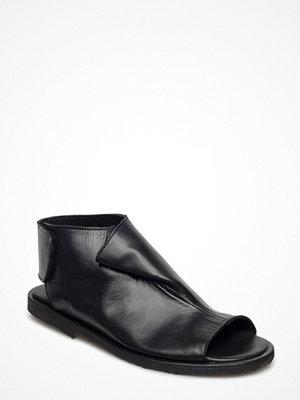 Sandaler & sandaletter - Angulus Draped Sandal With Velcro Closure