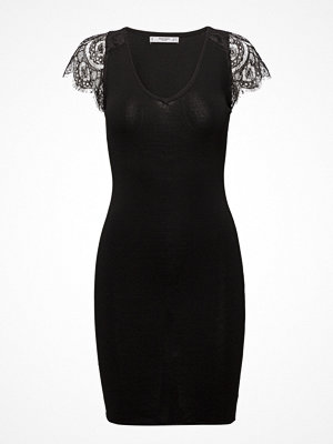 Mango Blond-Lace Appliqu Dress