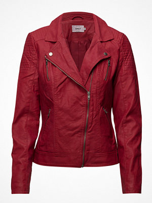 Only Onlsteady Faux Leather Biker Cc Otw
