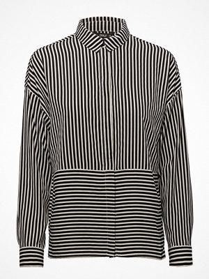 Only Onlelena L/S Striped Oversized Shirt Wvn