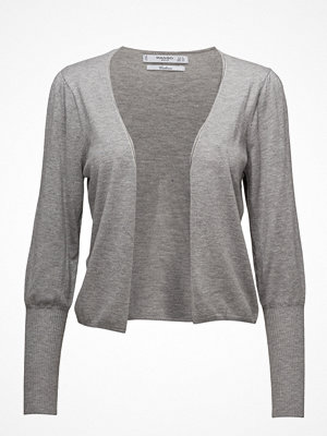 Mango Ribbed Metallic Cardigan