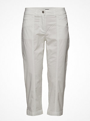Brandtex ljusgrå byxor Capri Pants