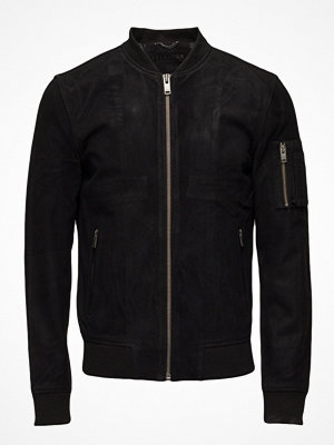 Skinnjackor - Selected Homme Shnmick Suede Bomber Sts