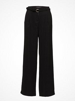 Soft Rebels svarta byxor Ann Wide Pants
