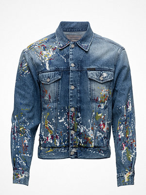 Jeansjackor - Calvin Klein Jeans Classic Trucker - Sterling Blue