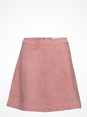 Vila Vipenty Suede Skirt
