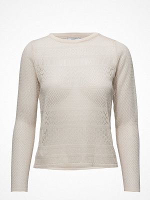 Mango Blond-Lace Detail Sweater