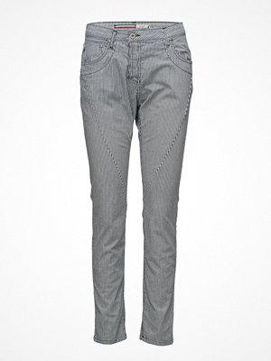 Please Jeans grå byxor Fine Flap Milky Way