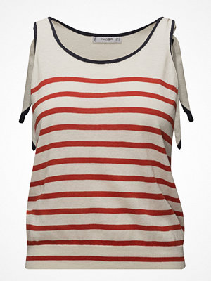 Mango Bow Striped Top