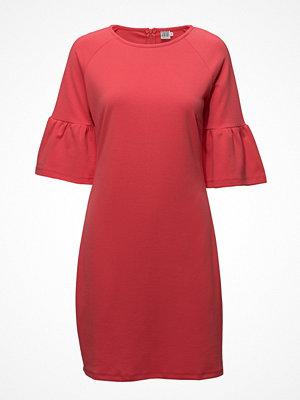 Saint Tropez Jersey Dress W.Flounce Sleeve