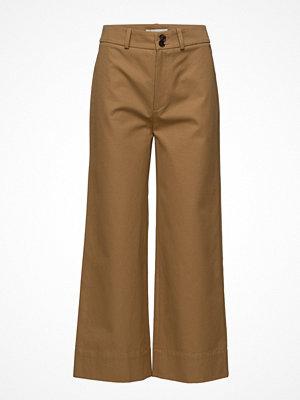 ÁERON bruna byxor Big Pocket Wide Leg Pants