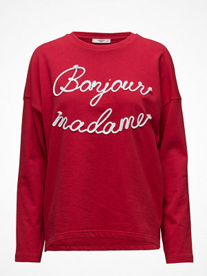 Mango Embroidered Message Sweatshirt