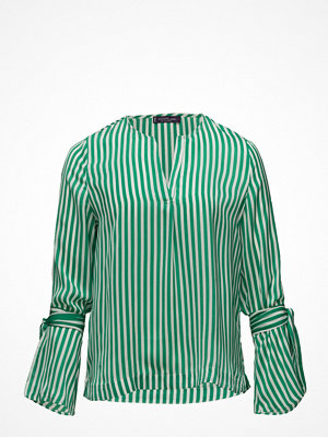 Violeta by Mango Striped Bow Blouse