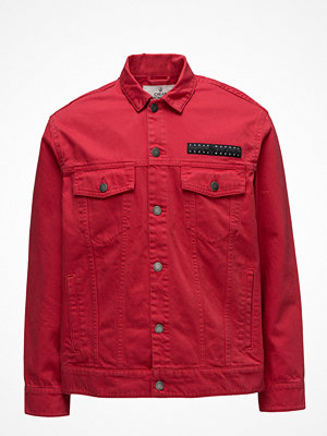 Jeansjackor - Cheap Monday Cred Jacket Od Red