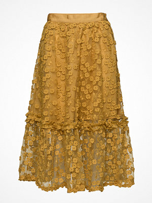 French Connection Caballo Lace Flared Skirt