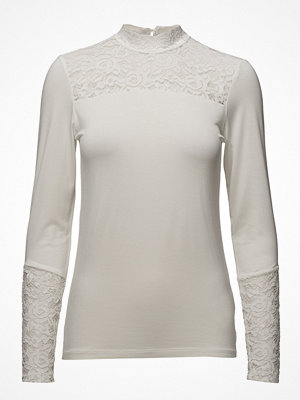 Cream Malena Ls Blouse