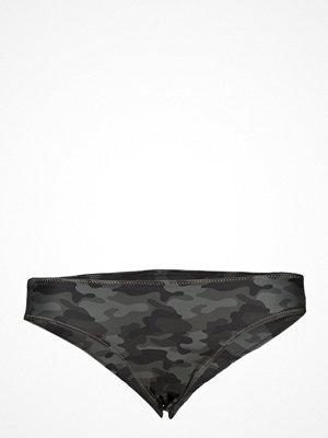 Rabens Saloner Gold Zig Zag Bikini Bottom