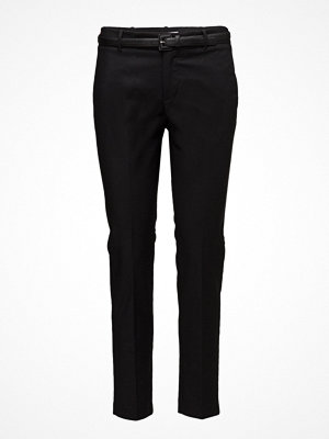 Mango svarta byxor Cotton Suit Trousers