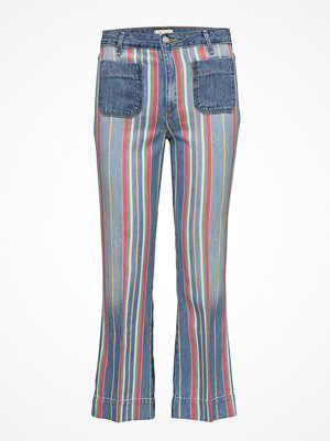 Wrangler Cropped Flare  Disco Stripes