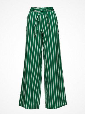 Mango randiga byxor Bow Printed Trouser