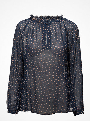 Rabens Saloner Dot Blouse