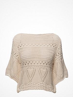 Mango Openwork Panel Sweater