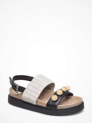 Sandaler & sandaletter - Inuikii Sandal Rafia Pearl