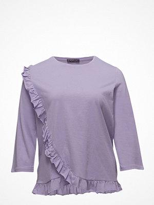 Violeta by Mango Frills Cotton T-Shirt