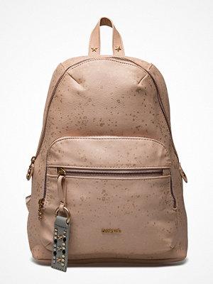 Desigual Accessories beige ryggsäck Bols Metallic Splatte