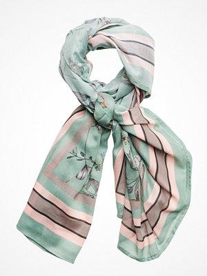 Halsdukar & scarves - Cream Miranesa Scarf