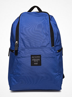 Marimekko blå ryggsäck Metro Backpack