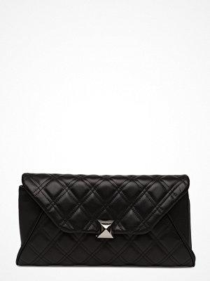 Leowulff svart kuvertväska Fleur Bag