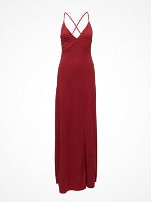 Mango Slit Long Dress